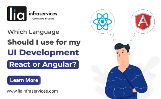 Which language should I use for UI Development React or Angular?